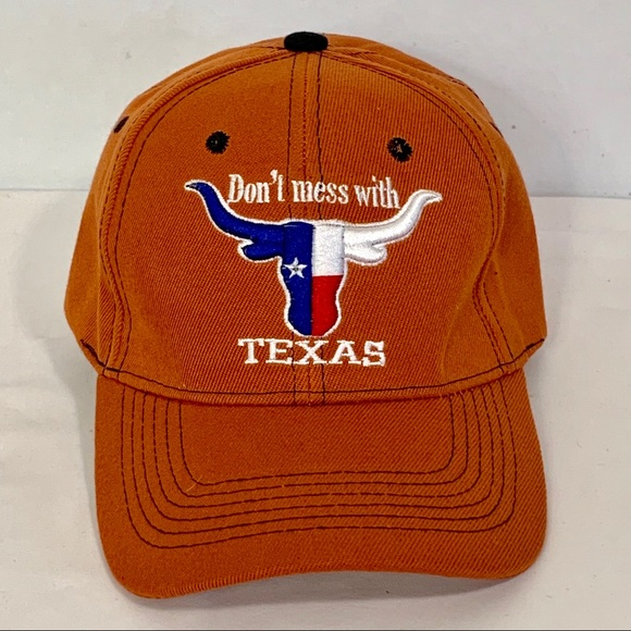 Snap Other - Texas Longhorn Snap Back Cap Don't Mess w Texas